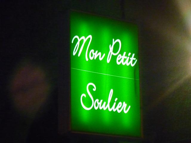 Mon petit soulier / My small shoe -  Limoux, France.