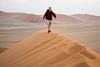 Ridge Walking - Namibia style