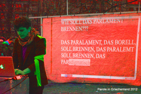 Das Parlament soll brennen...