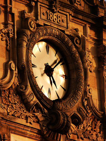 Time passes by - - - and never comes back …
