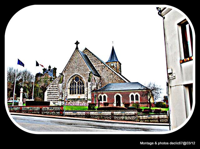L'église...