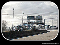 L'avancée du pont de Normandie