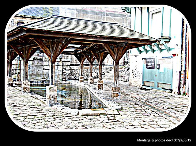 Le lavoir de Honfleur