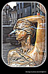 La femme et le reflet