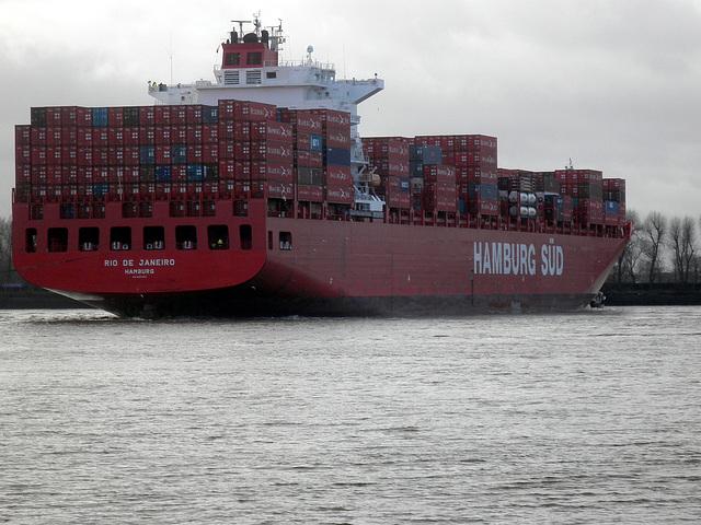 Containerschiff  RIO DE JANEIRO
