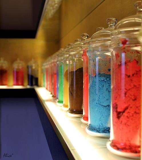 la stanza dei colori