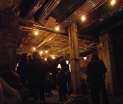 Subterranean bar