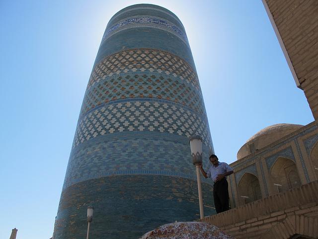 Minaret bleu de Khiva