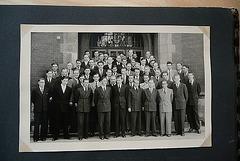 Unser Jahrgang 1953 in Paderborn vor dem Collegium Leoninum