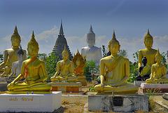 Buddha Park in Wat Phai Rong Wua