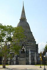 Stupa in Wat Phai Rong Wua