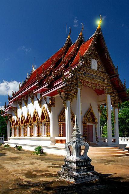 Wat Pha Thang in Uthai Thani