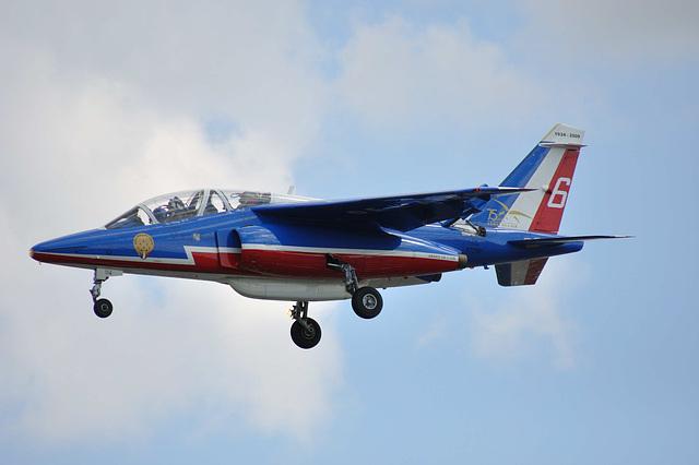alpha jet, patrouille de france