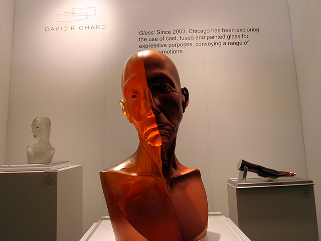 Palm Springs Fine Art Fair - Grand Toby Head With Copper Eye by Judy Chicago (2852)