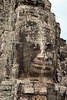 One of the 216 gigantic Bodhisattva faces