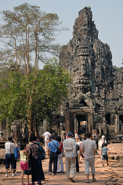 Enter Bayon from the east
