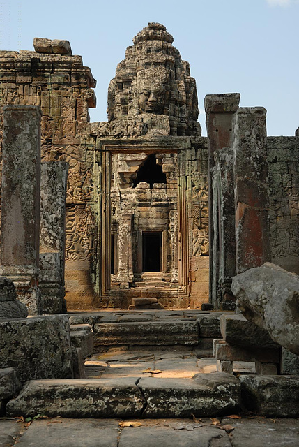 The galleries of Bayon
