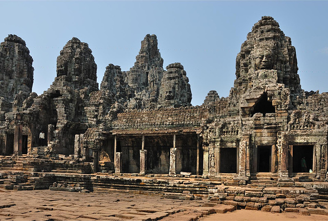 Bayon and its outer gallery