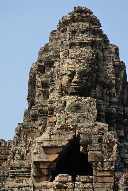 Bayon the face of Jayavarman VII