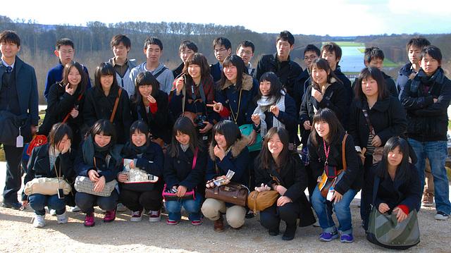 Japonais à Versailles