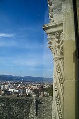 Depuis une fenêtre