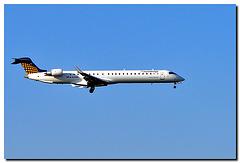 Eurowings Anflug