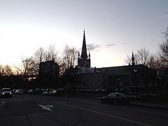 Churchtowerset / Coucher de clocher - 30 novembre 2011