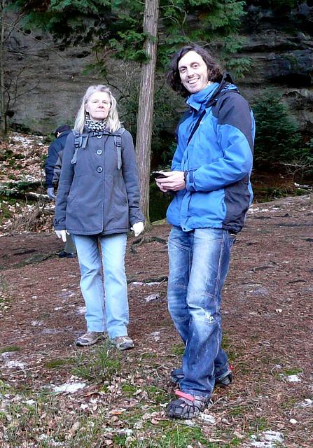 Monika und Arne