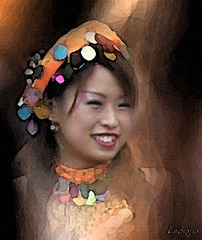 sourire multicolor