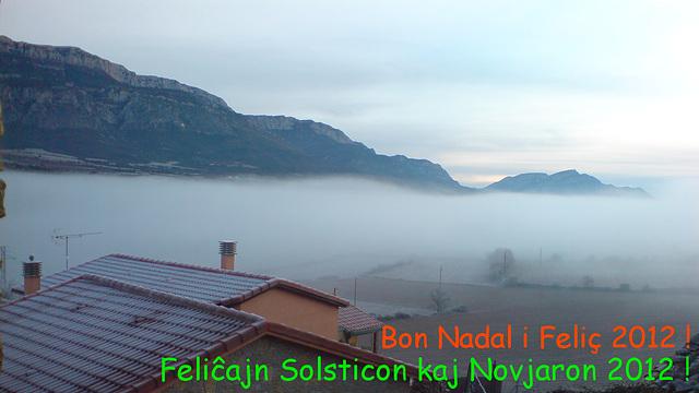Vintra solstico-2011, La mistero de la nebulo.