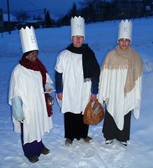 Nuntempa tradicio de Tri reĝoj en Ĉeĥio