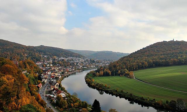 Neckarsteinach und Dilsberg