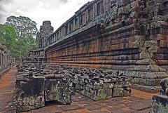 Around the Ta Keo mountain temple