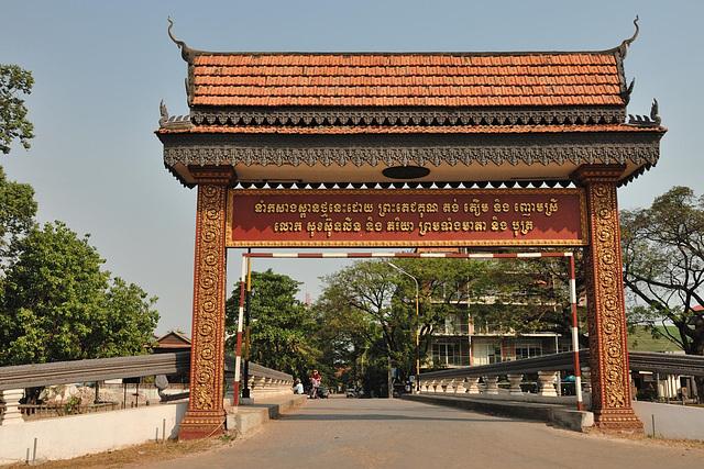 The gantry Samdech Tep Vong St