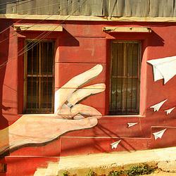 Streetart. Valparaiso.