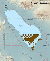 Sonny Bono NWR map