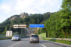 Pfändertunnel between Austria and Germany