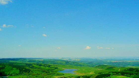 Blick vom Geisingberg 824m