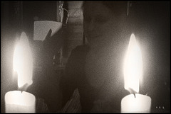 Candles and light