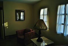 Penumbra interior. Hotel Monasterio