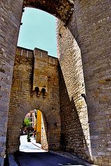 Puerta de entrada a Morella