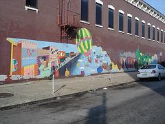 Junito's wall / Le mur Junito - 21 juillet 2008.