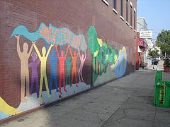 El Nuevo Hudson wall / Le mur du nouveau Hudson - 21 juillet 2008.