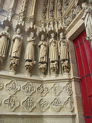 PICT16474ac Amiens Cathedral Notre Dame Virgo Porch