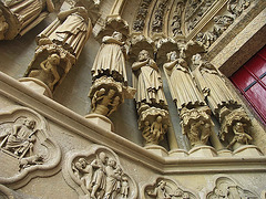 PICT16476ac Amiens Cathedral Notre Dame Virgo Porch