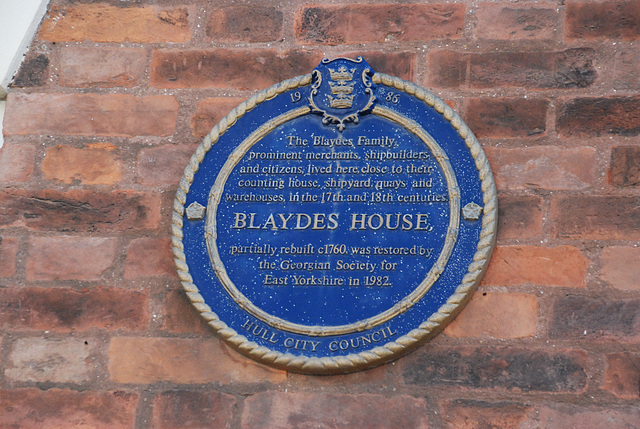 Blaydes House