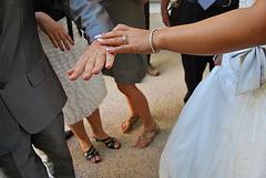Danse de mariage / Wedding party dance -  8 août 2011