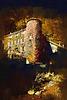 Mérial .....le château ...un soir