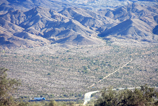Orocopia Wilderness Viewed From Cottonwood Road (3300)