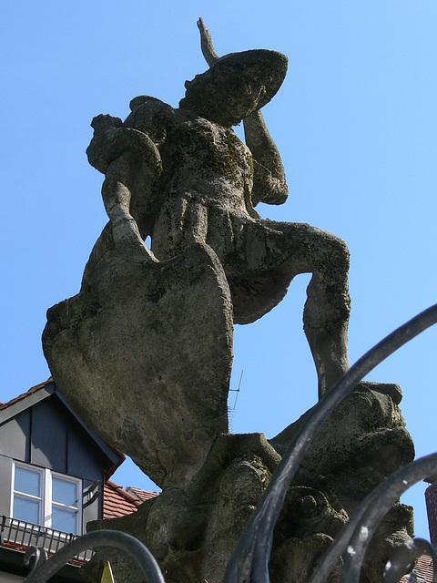 Regensburg - Brunnen am Fischmarkt